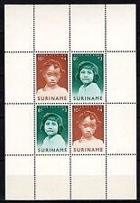 Suriname - 1963 Child welfare - Mi. Bl. 2 MNH