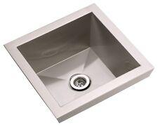 Elkay Asana EFL1515, 16 Inch Top Mount Stainless Steel Lavatory Sink
