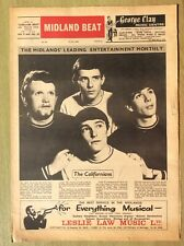 More details for 1966 midland beat no 34, the californians, listen, erly berdz the move, kingpins