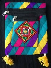 Purse Bag Cloth Clutch Envelope Hand Made Traditional Ethnic Strap Lightweight