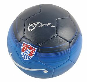 Sidney Leroux - 2015 World Cup Champs Autographed Soccer Ball (Steiner Sports)
