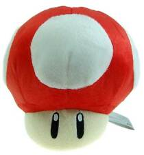 "Nintendo Super Mario Brothers Bro Red Mushroom 7"" Stuffed Toy Kids Plush Doll"