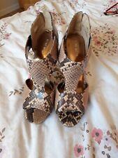 Nine West Snakeskin Shoes Size 5 New