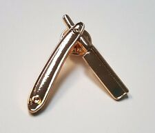 Razor Lapel Pin - Barber Supply