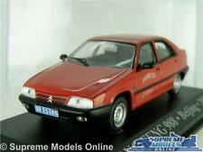 CITROEN ZX DONG FENG 988 MODEL CAR 1:43 SCALE IXO BEIJING 2000 RED TAXI K8