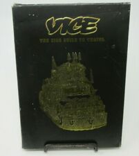 VICE - THE VICE GUIDE TO TRAVEL DVD/BOOK SET, MOST DANGEROUS, WEIRD DESTINATIONS