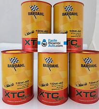 Olio motore per auto Bardahl XTC C60 SAE 10w-40 kit composto da 5 pz 326040