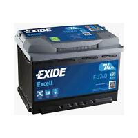 096 heavy duty 77ah Exide EA770 car battery 760cca 4 year warranty