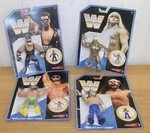 WWE - Mattel Retro - wrestling figure - inc. Diesel, Macho Man & Goldust