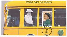 JVC CACHETS - 2013 ROSA PARKS STAMP BLACK HERITAGE HISTORY FIRST DAY COVER FDC 3