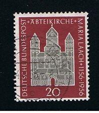 GERMANIA 1 FRANCOBOLLO CHIESA 1956 usato