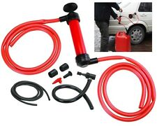 Liquid Hand Pump - Pumps Gasoline, Oil, Water, and More - Siphon Method- Air Too