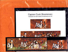 1970 Captain Cook BiCentenary Post Office Pack