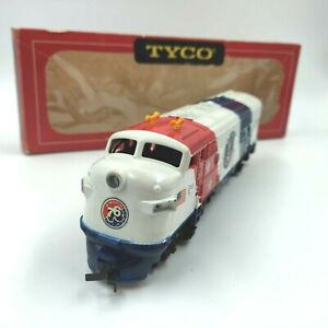 Vintage Tyco Train Engine HO Scale 1776 Spirit of 76 Patriotic Free Shipping