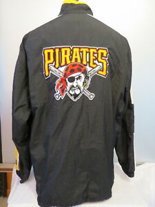 Pittsburgh Pirates Jacket (VTG) - Zip Up by Starter - Men's Extra Large