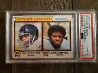 1979 Topps #3. Walter Payton. Earl Campbell. PSA 10. TWO HOFers (POP 34) HOC85🔥
