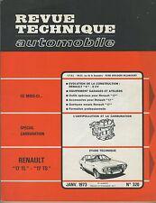 (48A) REVUE TECHNIQUE AUTOMOBILE RENAULT 17 TL - 17 TS