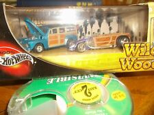 HOT WHEELS 100% 2 CAR SET WILD WOOD