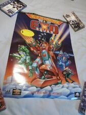 Exo Squad Poster Promotional Video VHS Laser Disc Cartoon Video Store Scarce
