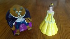Lot of 2 Vintage Disney Hand Puppets: Beauty & The Beast BELLE (Pizza Hut)
