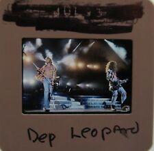 DEF LEPPARD Photograph Rock of Ages Foolin Animal Hysteria  ORIGINAL SLIDE 22