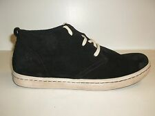 Born Size 10.5 CRISTIAN Black Suede Ankle Boots New Mens Shoes