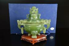 A5311: XF Chinese Stone Beast sculpture BIG INCENSE BURNER Tea Ceremony