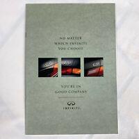 1994 Infiniti Full Lineup Sales Brochure Q45 J30 G20 USA NEW