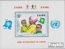 zaïre zaïrois Bloc 29 (complète edition) neuf avec gomme originale 1979 Année de