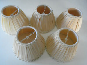 5 small lampshades