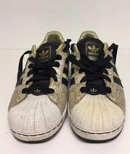 Adidas Superstar 2 Men's Size 7.5 Metallic Gold Black White