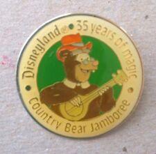 Disney Pin 1451 1990 Disneyland Celebrating 35 Years Zeke Country Bear Jamboree