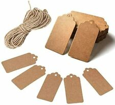 Paper Gift Tags Wedding favour tags Gift Tags Name Cards Root Natural Jute 200pc