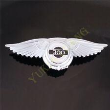 3D Angel Wing 300 Car Front Hood Grill Emblem Sticker for Chrysler 300C Badge