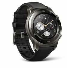 Huawei Watch 2 Classic Smartwatch Titanium Gray for Android and iOS LEO-BX9 NEW