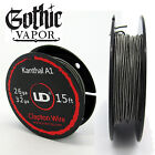 Clapton Wire Kanthal 26ga + 32ga 15ft CLAPTON COIL    Same Day Shipping