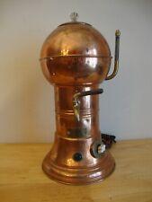 Antique Copper & Brass Hot Beverage Dispenser - American MetalWare Co. July 1917