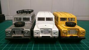 Matchbox LWB Land Rover SIII's x3 Lot 2