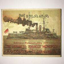 VINTAGE MIKASA EMPTY CIGARETTE PACKET BOX JAPAN EGYPT MALTA