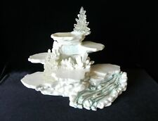 Rare Enesco Friends Of The Feather Lighted Winter Ice Display 1997 #286613