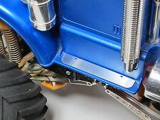 Pair Aluminum add-on side step plate Tamiya 1/10 RC Bullhead 58535 Truck