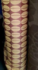 6 metres of curtain fabric very retro beautiful weight