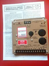 ESD5550E Electronic Engine Speed Controller Governor Generator Genset Part NEW