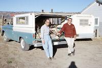 1966 Deer Hunters Grand Junction Colorado Kodachrome 35mm Slide Photo