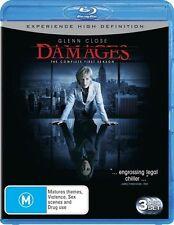 Damages: Season 1 (Blu-ray, 2009, 3-Disc Set), NEW & SEALED