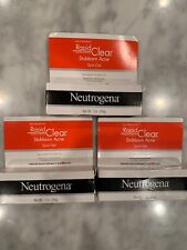 Neutrogena Rapid Clear Stubborn Acne Gel X3 Tubes NEW Acne Facial Care