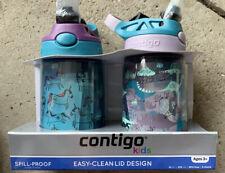 Contigo Kids Spillproof BPA Free 2-pack Water Bottles