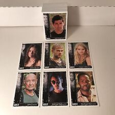 """LOST """"ARCHIVES"""" (Rittenhouse/2010) Complete Trading Card Set MATTHEW FOX"""