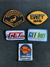 New Bakersfield Kern County Golden Empire Transit District Bus Uniform Patches
