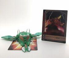 Bakugan Ventus Green Jakalier 220G Mobile Assault Gundalian Invaders DNA & Cards